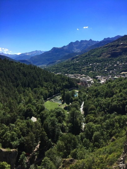 View from Briançon