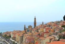 Colors of Menton
