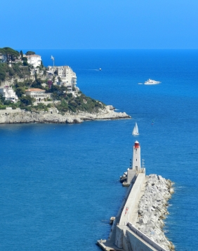 Lighthouse of Nice harbor