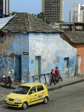 Street life in Cartagenas